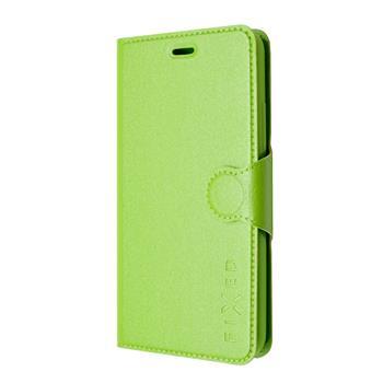 Pouzdro flip na Lenovo A5000 FIXED zelené