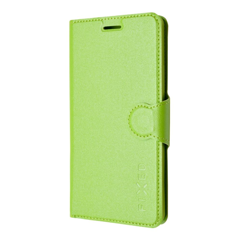 Pouzdro flip na Lenovo A7000 FIXED zelené