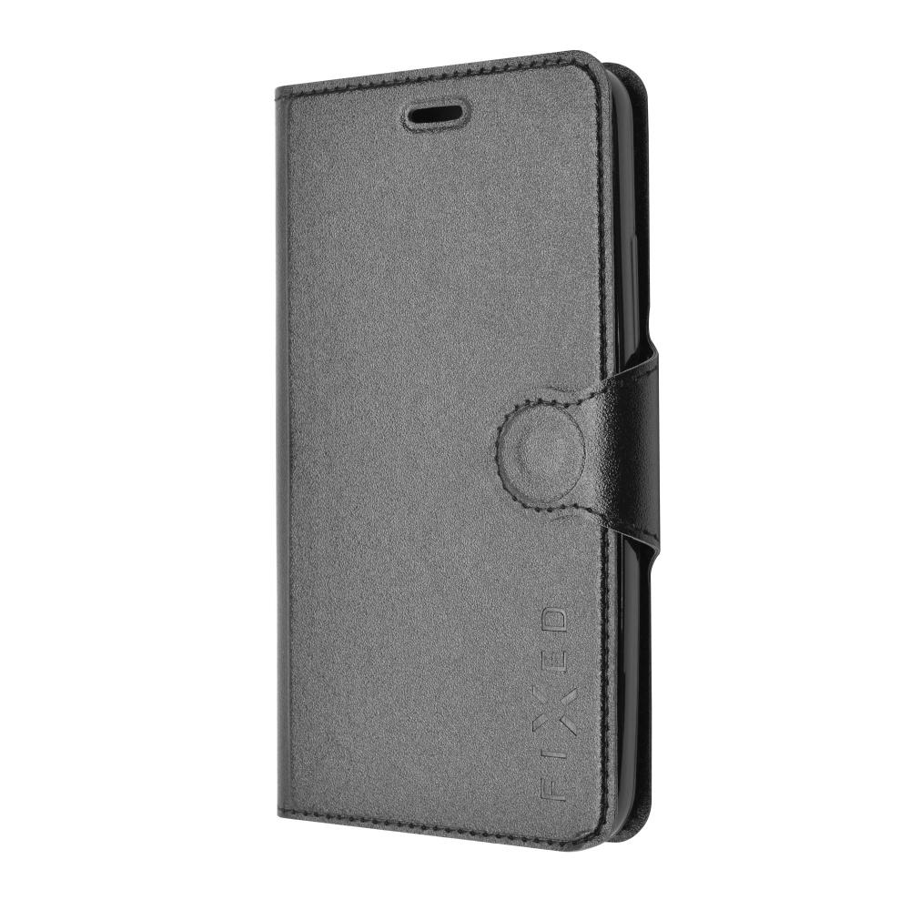 Pouzdro flip na Huawei P8 Lite FIXED černé