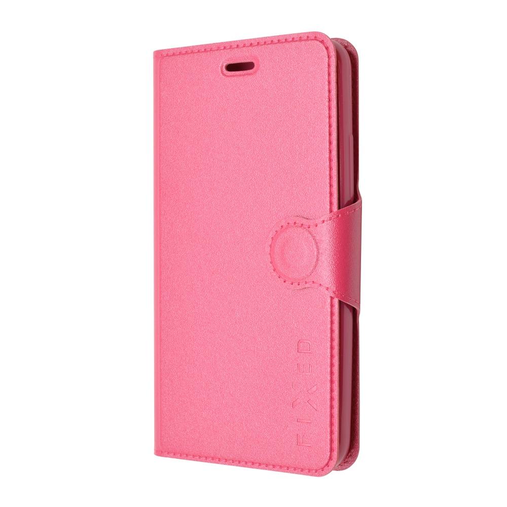 Pouzdro flip na Huawei P8 Lite FIXED růžové