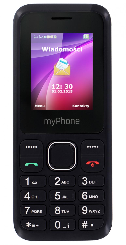 CPA myPhone 3300 Dual SIM Black