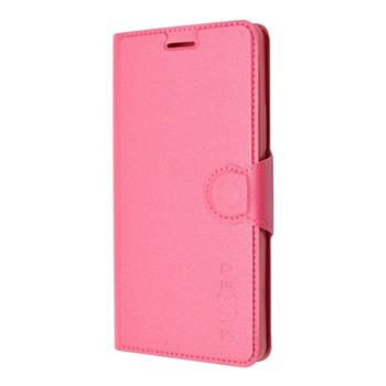 Pouzdro flip na Lenovo A536 FIXED růžové