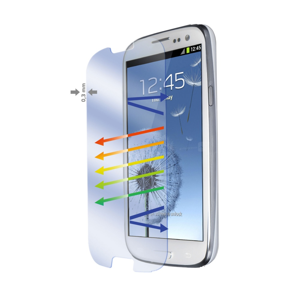 Tvrzené sklo CELLY Glass pro Samsung Galaxy S III/ S3 Neo