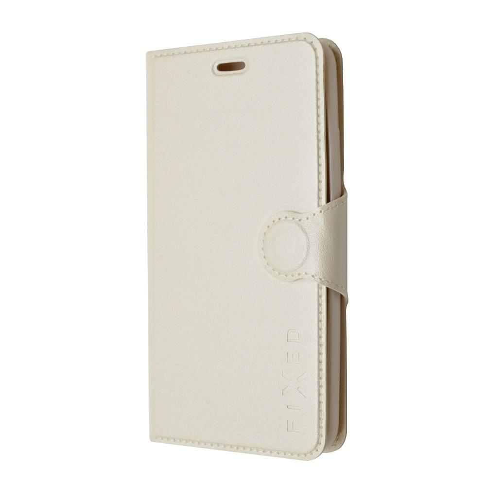 Pouzdro flip na Huawei P8 Lite FIXED bílé