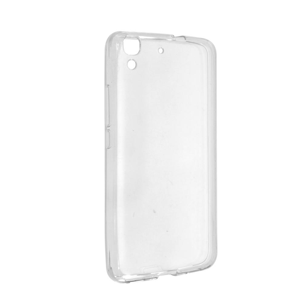 Silikonové pouzdro na Huawei Y6 FIXED bezbarvé