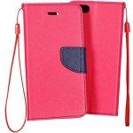 Pouzdro na mobil Samsung S5 mini Mercury Fancy Diary růžové/modré