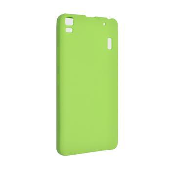 Silikonové pouzdro na Huawei Ascend P7 FIXED zelené