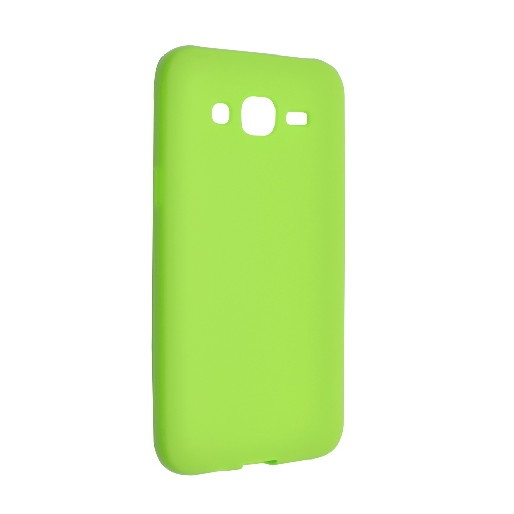 Silikonové pouzdro na Samsung Galaxy J5 FIXED zelené