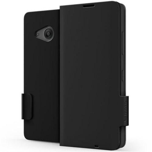 Flipové pouzdro na Microsoft Lumia 550 MOZO Flip Cover Classic, černé