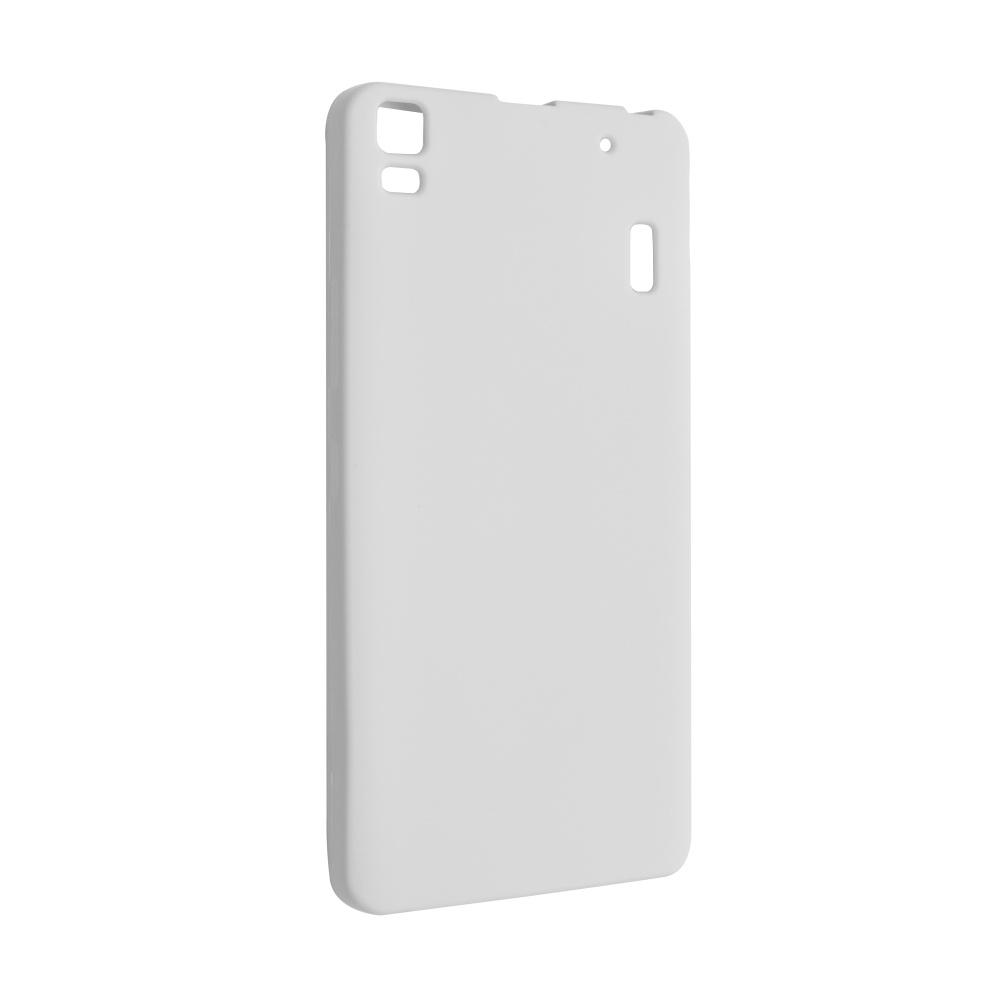 Silikonové pouzdro FIXED pro Lenovo A7000, bílé