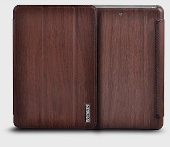 Pouzdro na tablet Ipad AIR Remax - barva ebony-hnědá