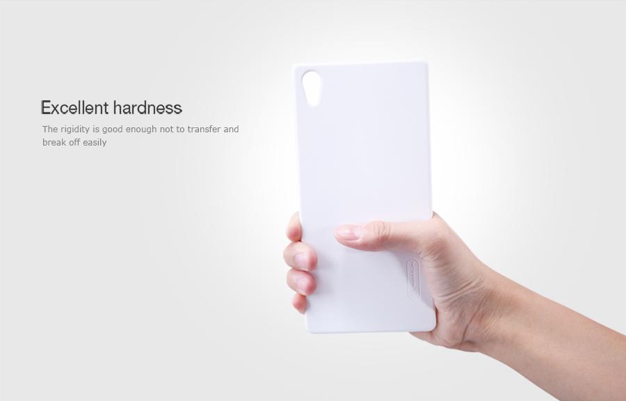 Zadní kryt pro Sony E6853 Xperia Z5 Premium, Nillkin Super Frosted bílý