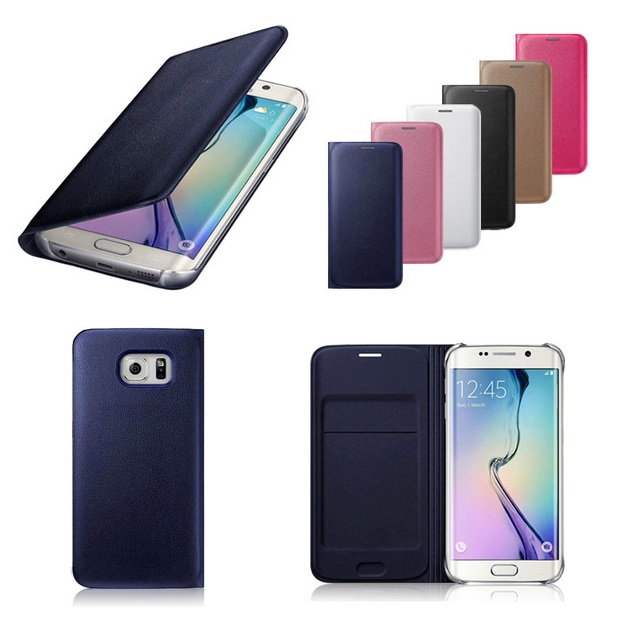 Pouzdro Wallet EF-WG928PFE pro Samsung Galaxy S6 Edge+ (G928) zlaté (EU Blister)