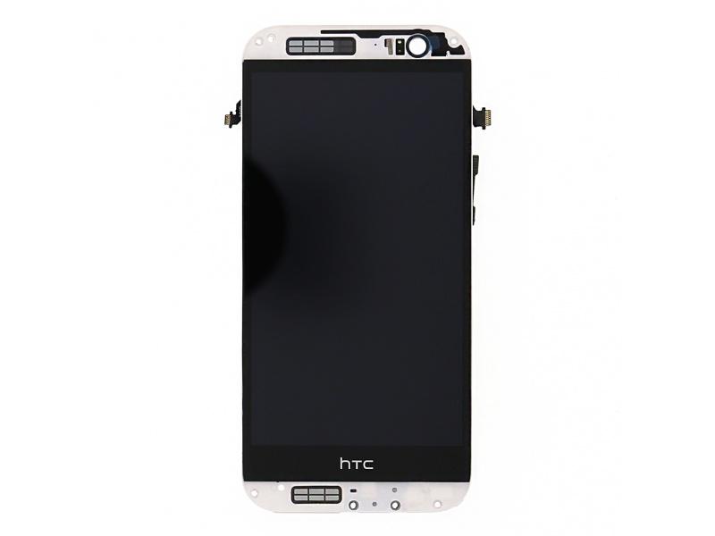 LCD Display + Dotyková Deska Grey pro HTC M8s - originál