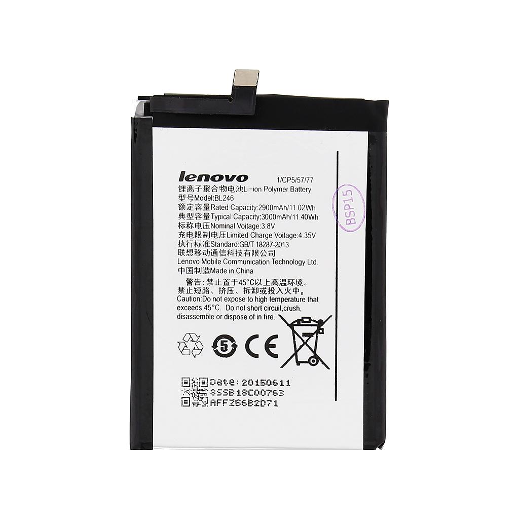 Original baterie Lenovo BL246, 3000mAh Li-Pol (Bulk)