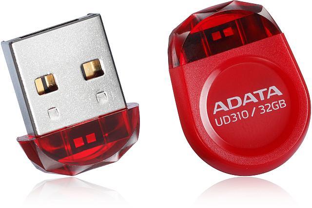 Flash disk ADATA UD310 8GB, USB 2.0, červený