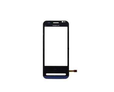 Dotyková plocha+sklíčko pro Nokia C6, černá