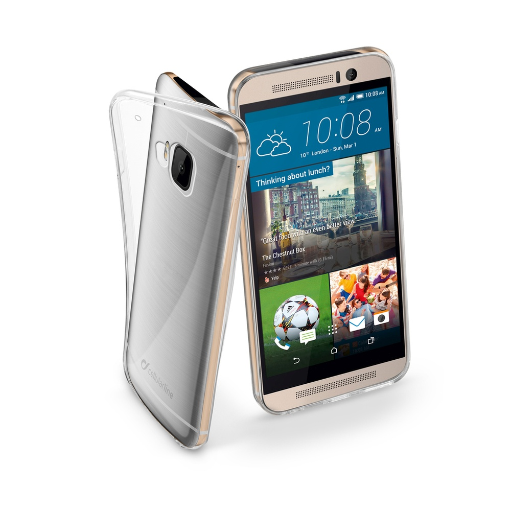 Extratenké pouzdro na HTC One M9 CellularLine Fine čiré