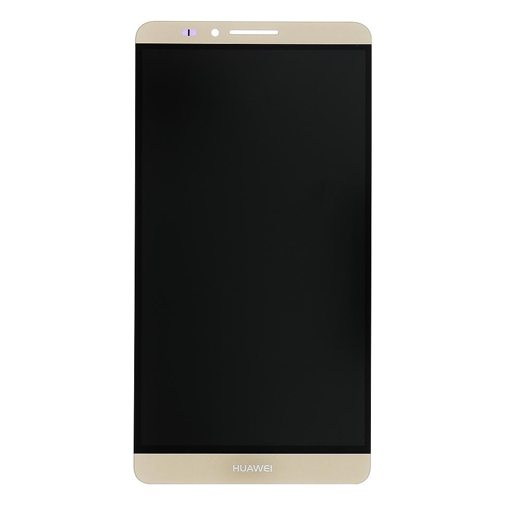 LCD display + dotyková deska pro Huawei Ascend Mate7, zlatá