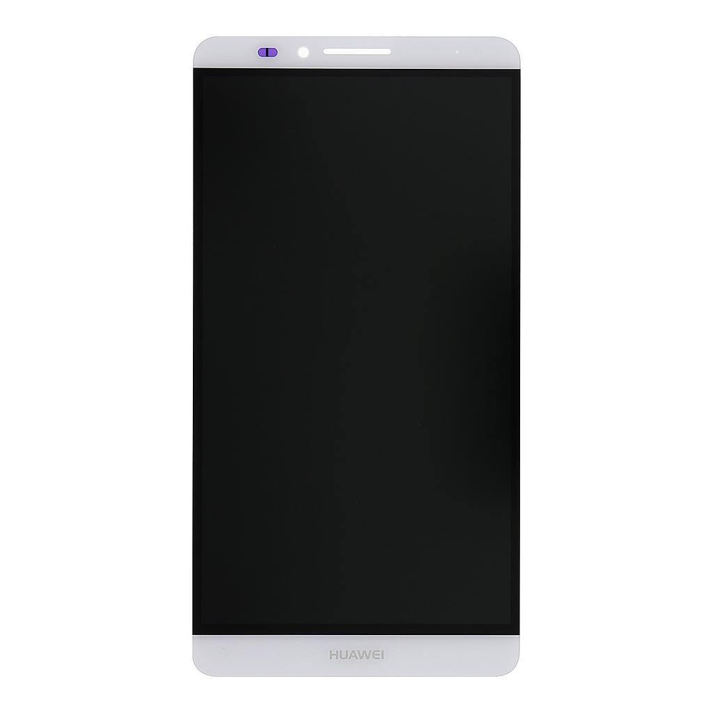 LCD display + dotyková deska pro Huawei Ascend Mate7, bílá