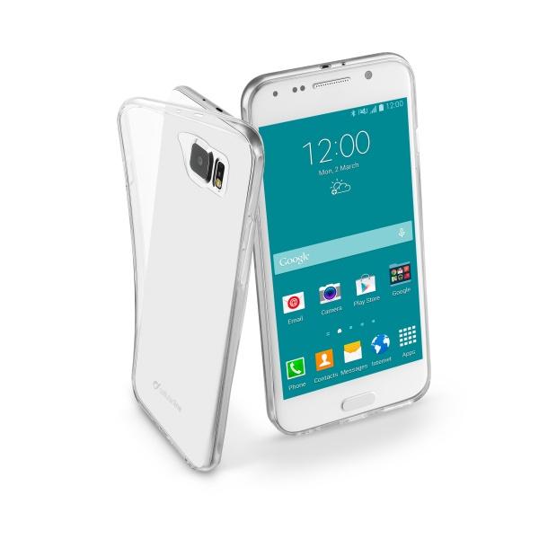 Extratenké pouzdro na Samsung Galaxy S6 CellularLine Fine čiré