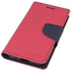 Flipové pouzdro pro Samsung A300 Galaxy A3 Fancy Diary růžovo/modré