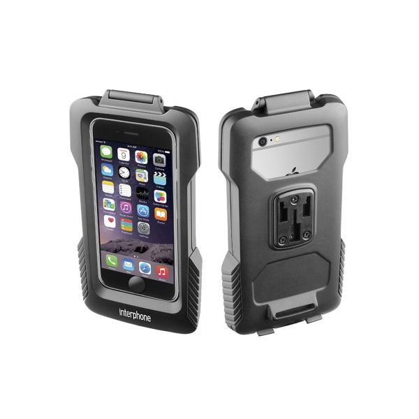 Voděodolné pouzdro Interphone na Apple iPhone 6 s držákem černé