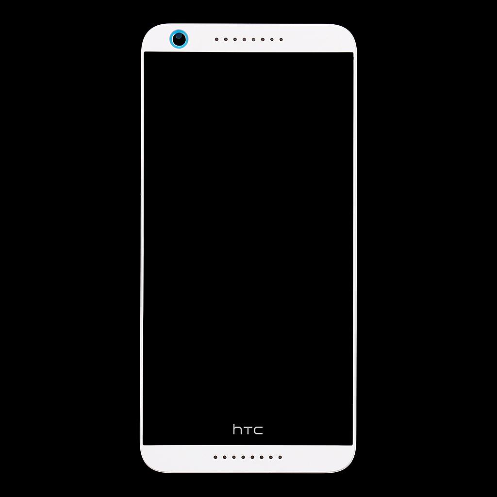 LCD display + dotyková deska + přední kryt White pro HTC Desire 626 - originál