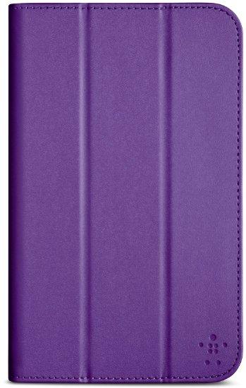 "Pouzdro na tablet Samsung Galaxy Tab 4 BELKIN 7"", Tri-Fold fialové"