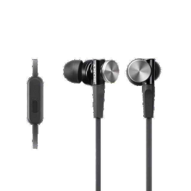 Sluchátka SONY MDR-XB70AP, handsfree, černé