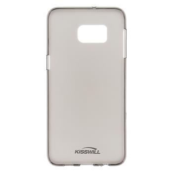 Silikonové pouzdro Kisswill pro Samsung J500 Galaxy J5 Transparent/Gold