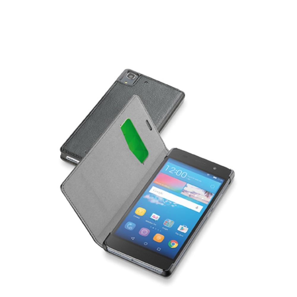 Pouzdro flip na Huawei Y6 CellularLine Book Essential černé
