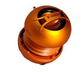 Reproduktor X-mini UNO keramický přenosný mono, oranžový