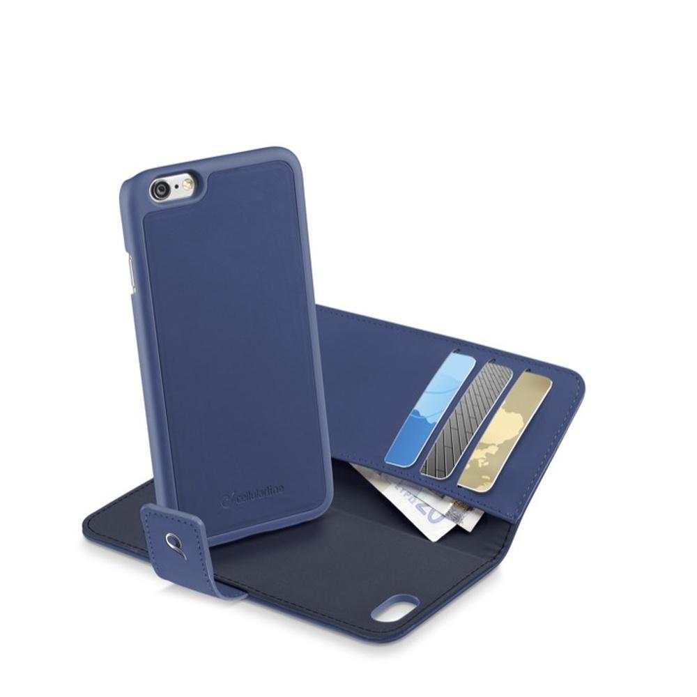 """Pouzdro 2v1 na Apple iPhone 6 (4,7"""") CellularLine COMBO modré"""