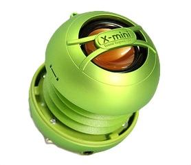 Reproduktor X-mini UNO keramický přenosný mono, zelený