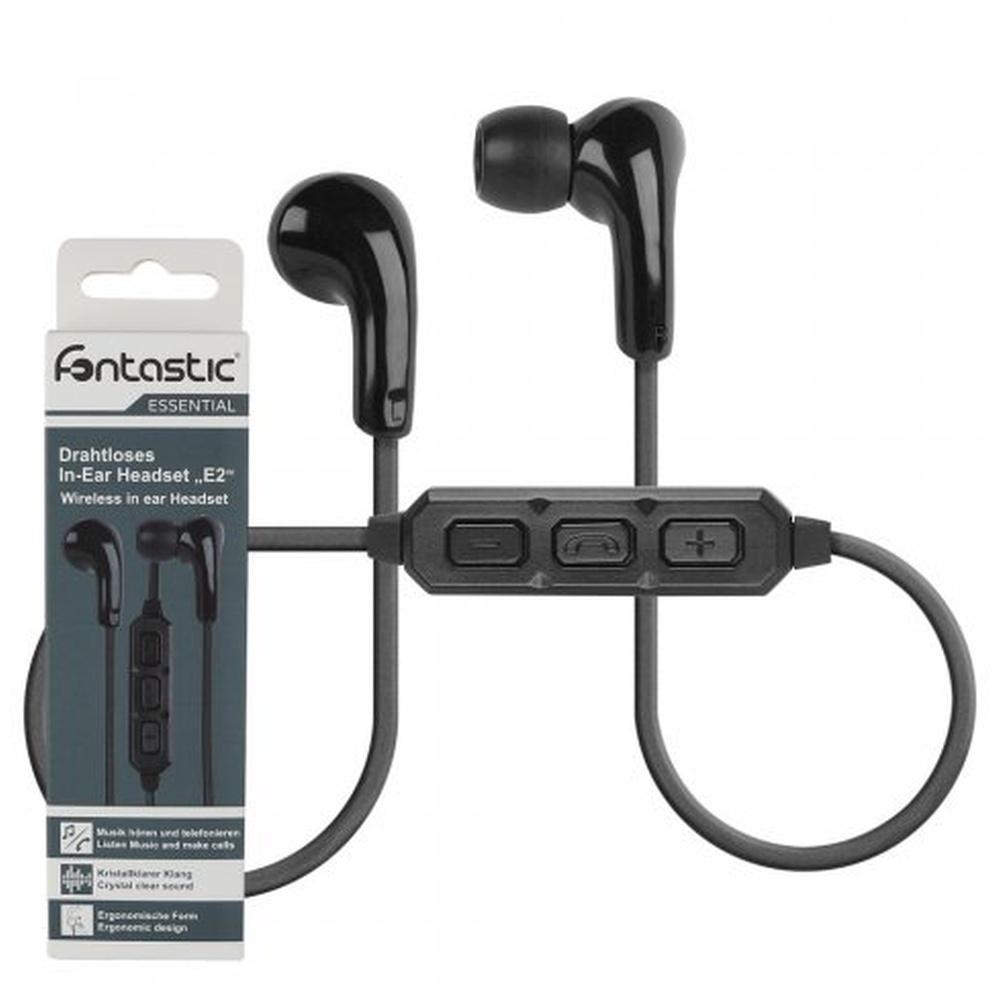 Headset Fontastic ESSENTIAL E2 Bluetooth stereo černý
