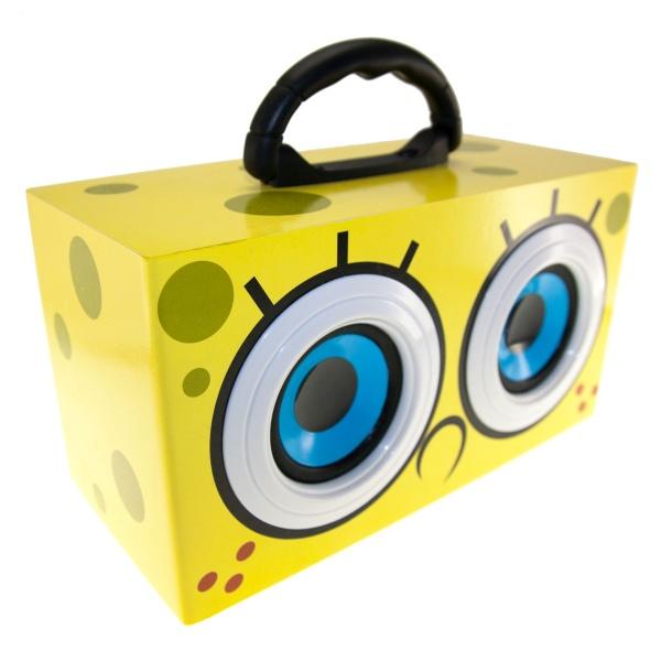 Přenosný reproduktor SpongeBob Eyes