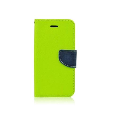 Flipové pouzdro pro Samsung Galaxy Core Prime Fancy Diary limetkově/modré