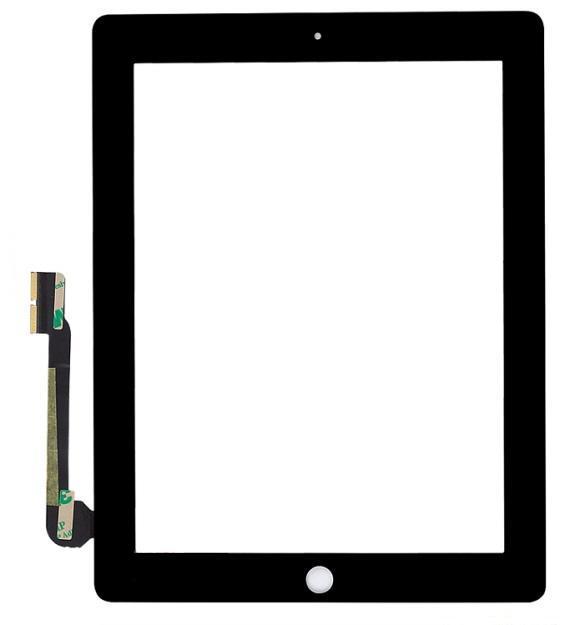 Dotyková deska pro The New iPad, černá OEM