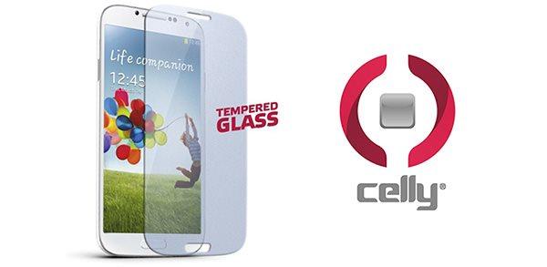 """Univerzální tvrzené sklo CELLY Glass pro telefony do 4,5"""""""