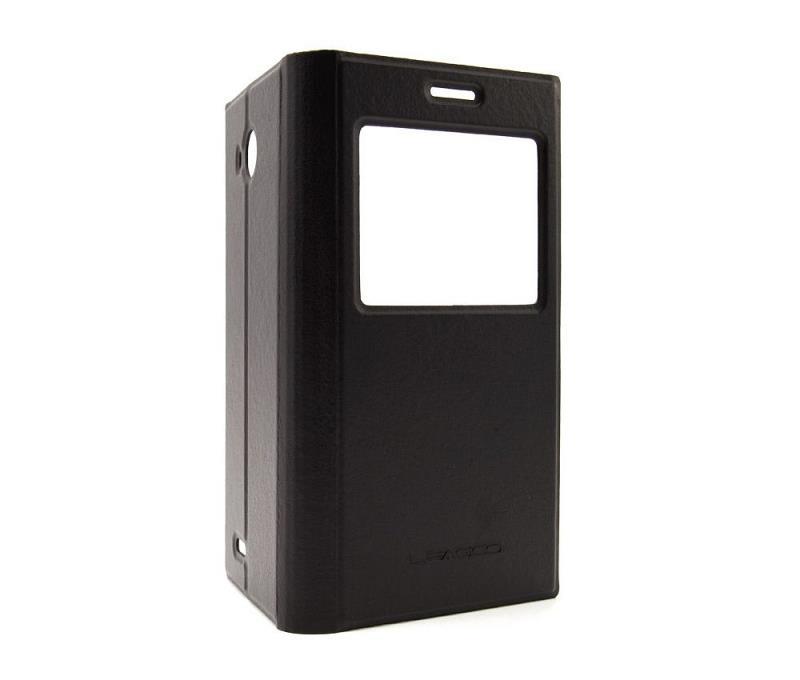 Originální flipové pouzdro Leagoo Lead 5 S-View černé