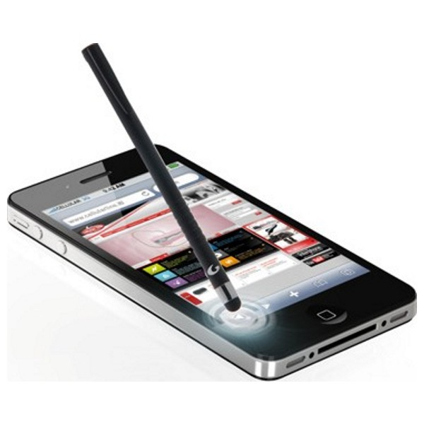 Sensible pen CellularLine pro dotykové displeje černý