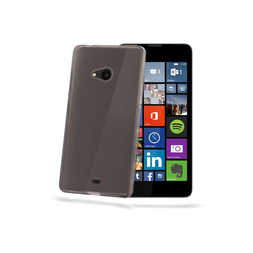 CELLY Gelskin silikonové pouzdro Microsoft Lumia 540/540 DS černé