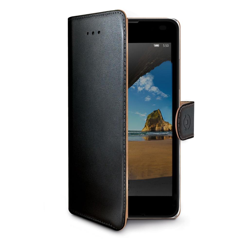 CELLY Wally Pouzdro flip na Microsoft Lumia 550 černé