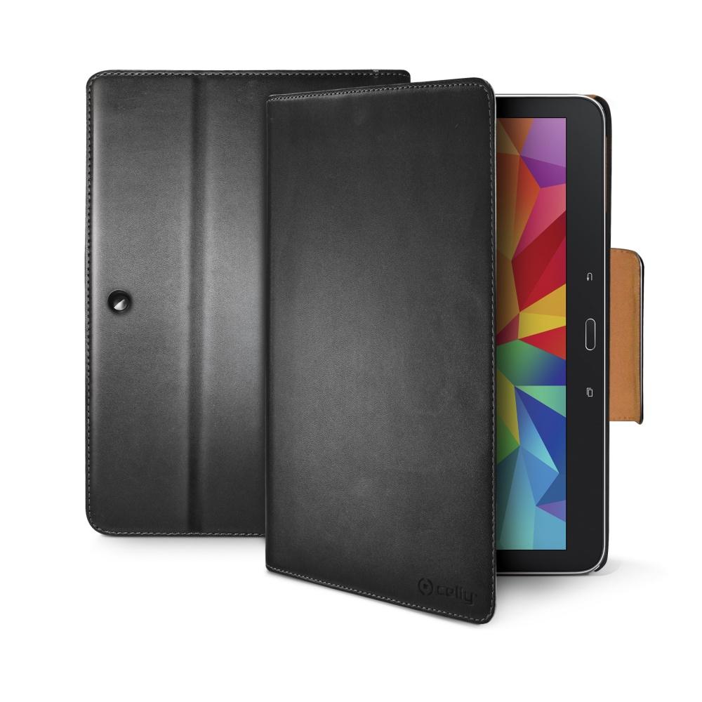 CELLY Wally Pouzdro flip na Samsung Galaxy Tab 4 (10.1) černé