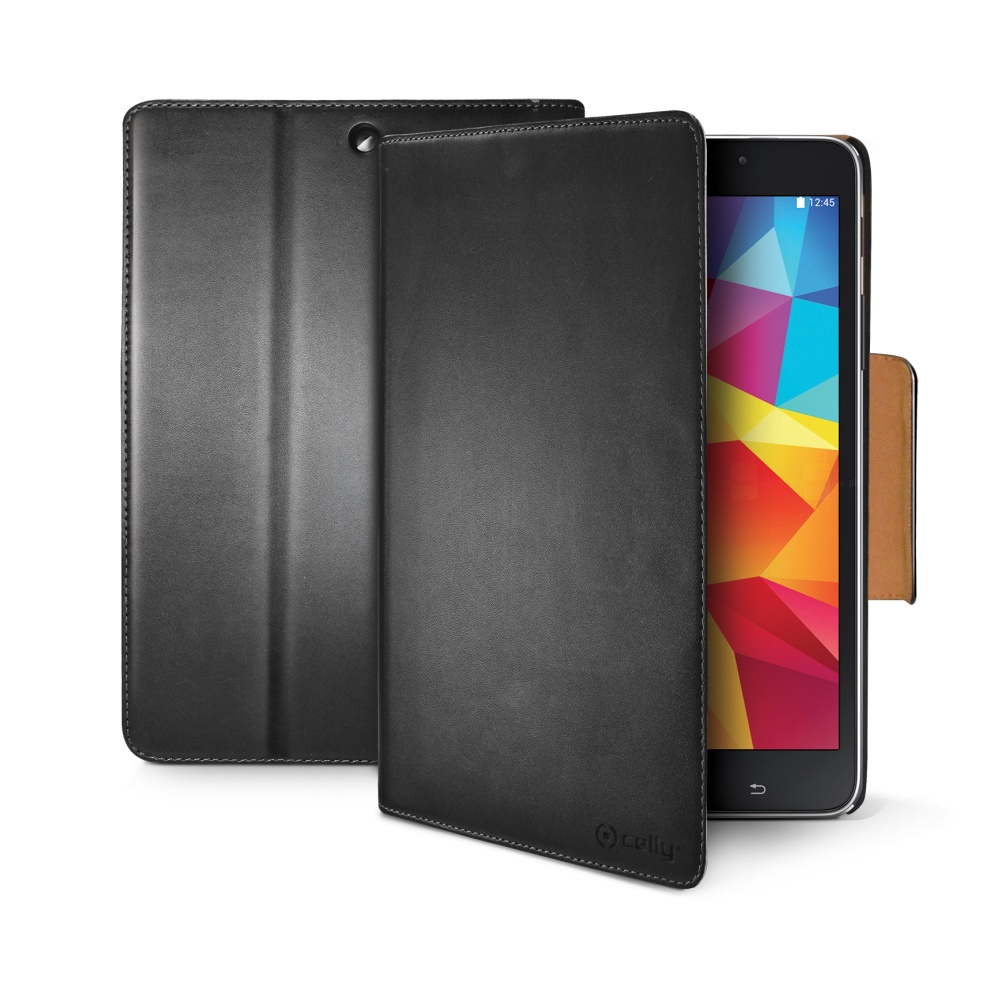 CELLY Wally Pouzdro flip na Samsung Galaxy Tab 4 (7.0) černé