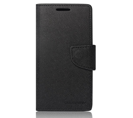 "Pouzdro Fancy Diary Book Alcatel Idol 3 4,7"" black/černá (BULK)"