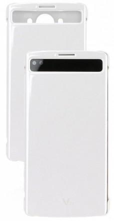 LG QuickCircle pouzdro CFV-140 pro LG V10 bílé