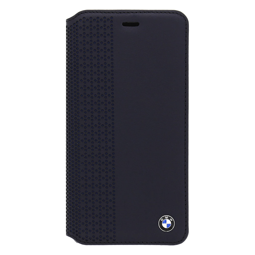 "Pouzdro BMW Book Perforated pro iPhone 6 Plus 5.5"" BMFLBKP6LPEN modré"