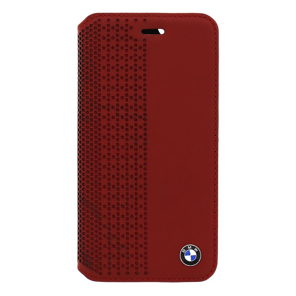 "Pouzdro BMW Book Perforated pro iPhone 6 4.7"" BMFLBKP6PER červené"